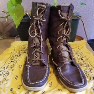 Sale: Sperry | Topsider high top leather boots